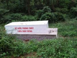 Lắp đặt và bàn giao hệ thống Bể chứa nước PCCC và sinh hoạt cho Ban Quản lý  rừng phòng hộ đặc dụng Hà Nội