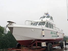 Lễ hạ thủy tàu MS – 50F  do Công ty CP Công Nghệ James Boat thiết kế và chế tạo.