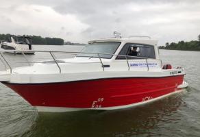 Mẫu FINSON 28 - do Công Ty CPCN James Boat chế tạo bằng vật liệu Vacuum Composite