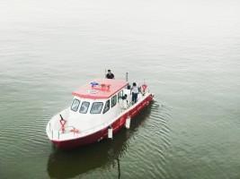JamesBoat Technology- Hạ thủy 02 mẫu tàu  mới được chế tạo bằng vật liệu mới PPC – Rochling