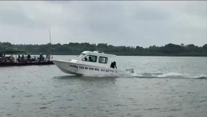 James Boat technology hạ thủy tàu DSB 01