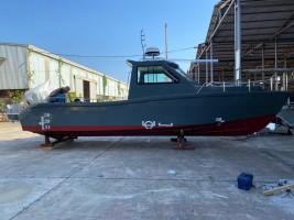 James Boat technology hạ thủy xuồng tuần tra cao tốc MS-33