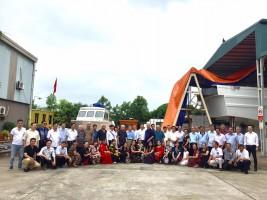 Câu Lạc Bộ Công An Hưu Trí Phường Mai Dịch – Bộ Công An đến thăm Công ty CPCN James Boat