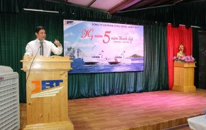 THE 5TH ANNIVERSARY OF ESTABLISHMENT OF THE JAMES BOAT TECHNOLOGY JSC  ( 27 MAY 2013 – 27 MAY 2018 )