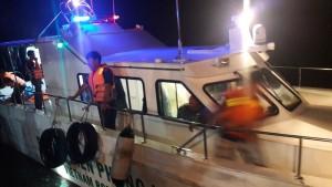 Xuồng tuần tra cao tốc MS-50S do Công ty cổ phần công nghệ James Boat chế tạo, cứu sống 7 người bị lật xuồng cao su trên biển