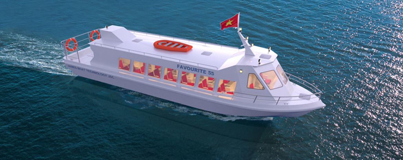 Tàu Khách Favourite 55