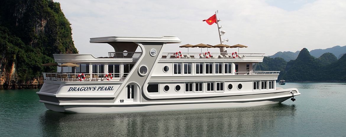 Luxury yacht on Ha Long bay