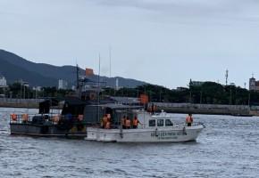 Tàu MS-50S do Công ty James Boat chế tạo tham gia đảm bảo an ninh trật tự cho Lễ hội Pháo hoa Quốc tế Đà Nẵng 2019
