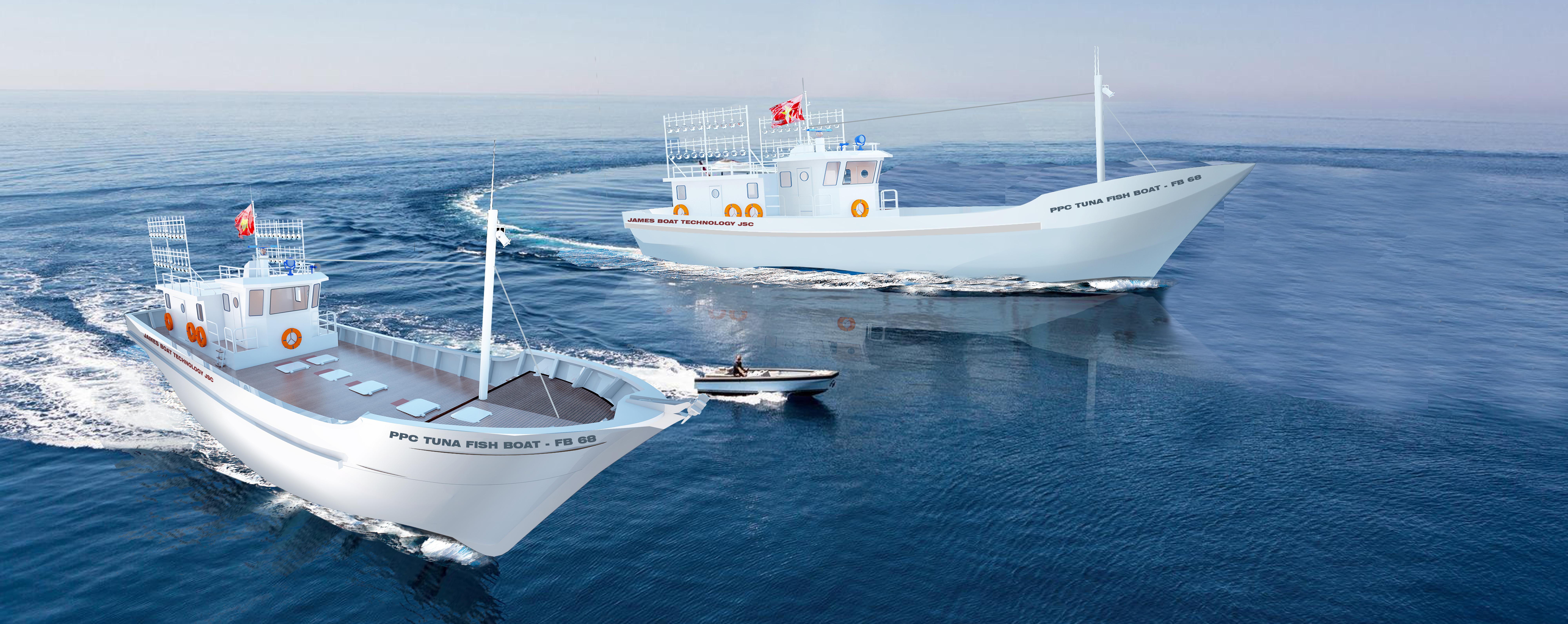 Tàu câu cá ngừ đại dương