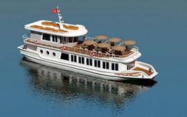 Tàu khách thăm và lưu trú trên vịnh