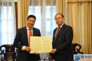 Trao Chứng nhận Lãnh sự Danh dự Cộng hòa Croatia tại Hà Nội