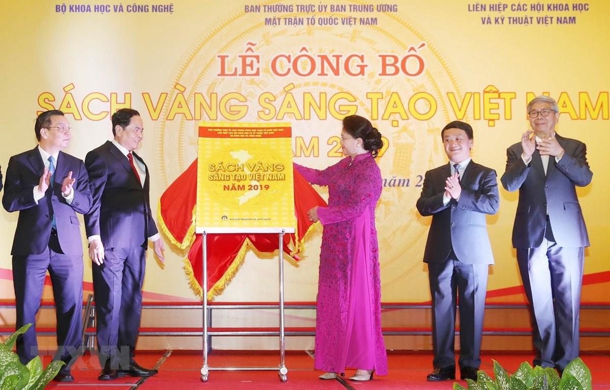 James Boat Technology tại Lễ công bố Sách vàng Sáng tạo Việt Nam