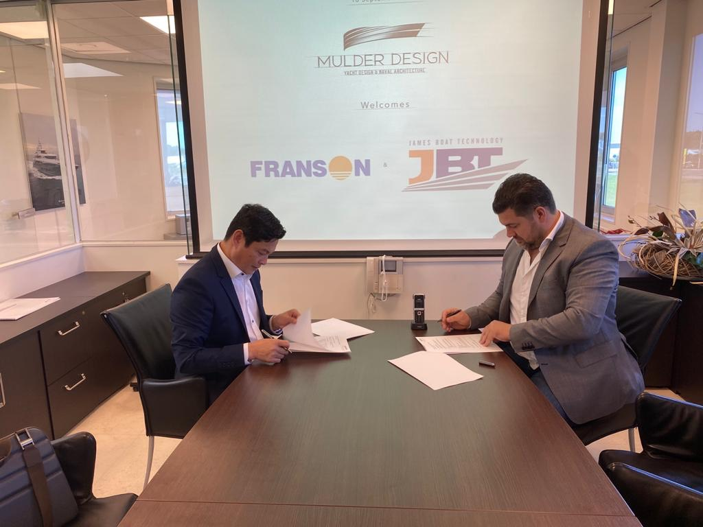 Công ty cổ phần công nghệ James Boat hợp tác với đối tác Hà Lan chuyển giao công nghệ đóng du thuyền siêu sang bằng vật liệu hợp kim nhôm tại Việt Nam